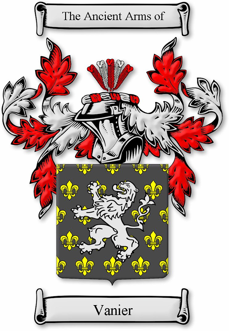 coat of arms of the vanier family